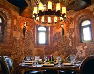 Ресторан в Средневековом Замке